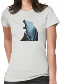 The hunter and the beast Womens Fitted T-Shirt