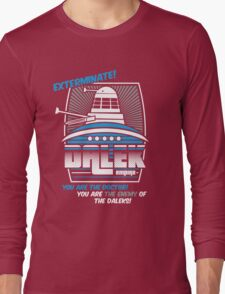 Dalek - Exterminate! Long Sleeve T-Shirt