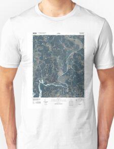 USGS TOPO Map Alabama AL Salem 20100426 TM T-Shirt