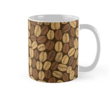 Golden and brown coffee beans Mug