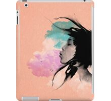 Psychedelic Blow Japanese Girl Dream iPad Case/Skin
