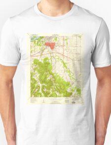 USGS TOPO Map Alabama AL Tuscumbia 305254 1952 24000 T-Shirt