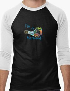 MerrowFins Mermaid Men's Baseball ¾ T-Shirt