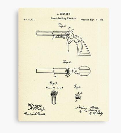 Breech-Loading Fire-Arm-1864 Metal Print