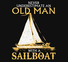 old man with sailboat Unisex T-Shirt