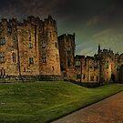 Alnwick Castle Panorama by eddiej