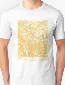 USGS TOPO Map Alabama AL Townley 305220 1951 24000 T-Shirt
