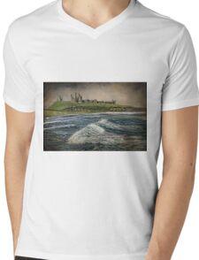 Dunstanburgh  Castle Mens V-Neck T-Shirt
