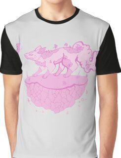 Earth element fox Graphic T-Shirt