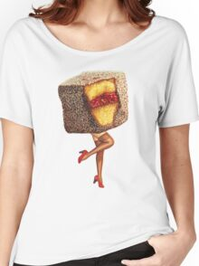 Hot Cakes - Lamington Girl Women's Relaxed Fit T-Shirt