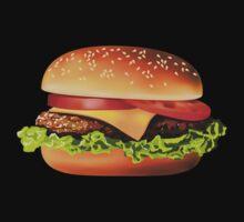 Burger One Piece - Long Sleeve