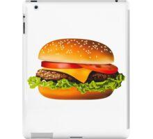 Burger iPad Case/Skin