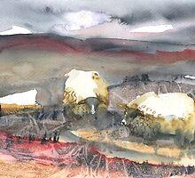 Grazing, Lochindorb 4, Scotland  by sabro