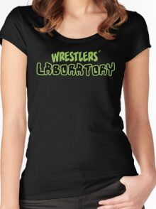 Wrestlers' Laboratory Logo Women's Fitted Scoop T-Shirt