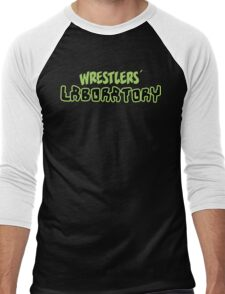 Wrestlers' Laboratory Logo Men's Baseball ¾ T-Shirt