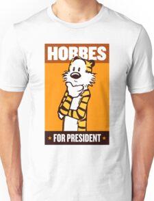 Hobbes For President Unisex T-Shirt