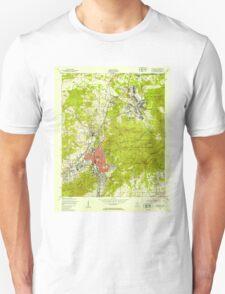 USGS TOPO Map Alabama AL Anniston 303109 1947 24000 T-Shirt