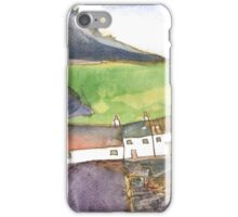 White Cottages 4, Scotland - 2013 iPhone Case/Skin
