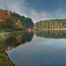 Entwistle Reservoir - Lancashire by eddiej