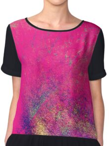 psychedelic barbie Chiffon Top