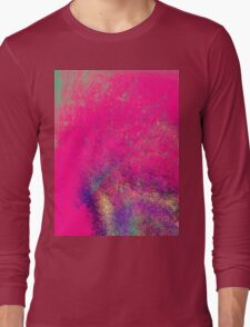 psychedelic barbie Long Sleeve T-Shirt