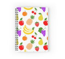 Fruit pattern Spiral Notebook