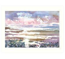 Burghead Bay 2, Moray Scotland - 2011 Art Print