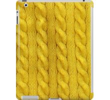 Yellow Cables iPad Case/Skin