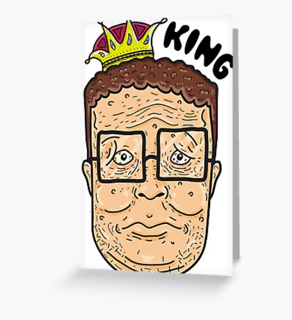 Just Can't Wait To Be King Greeting Card