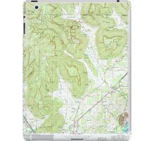 USGS TOPO Map Alabama AL Doran Cove 303699 1967 24000 iPad Case/Skin