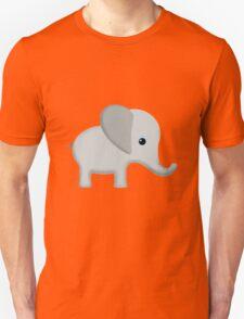 Cute Gray Baby Elephant Unisex T-Shirt