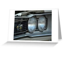 1969 Dodge Coronet Super Bee Greeting Card
