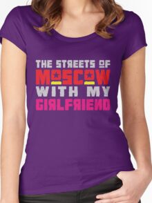 The Hungry Hearts - Laika [Streets of Moscow with my Girlfriend] Women's Fitted Scoop T-Shirt