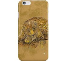 Swirly Leopard iPhone Case/Skin