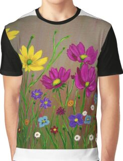Spring Wild Flowers  Graphic T-Shirt