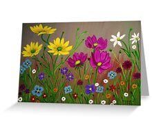 Spring Wild Flowers  Greeting Card