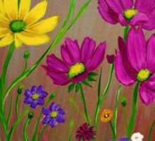 Spring Wild Flowers  Sticker
