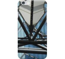 futuristic construction 6 (detail) iPhone Case/Skin