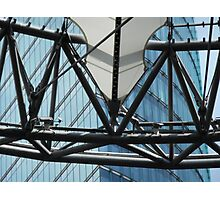 futuristic construction 6 (detail) Photographic Print