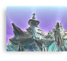 Ice Dragons Keep Canvas Print