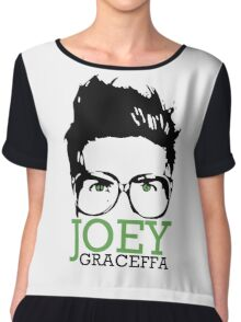 JOEY GRACEFFA Chiffon Top