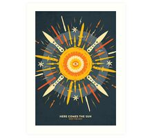 Here Comes The Sun / Bernhard Kettner / For SPOT THE DOT Art Print