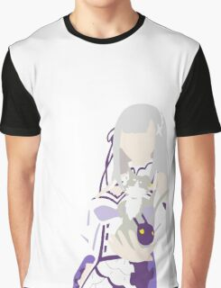 Emilia Anime Manga Shirt Graphic T-Shirt