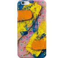 Yellow Slides / Negative Z by Larry Hefner iPhone Case/Skin