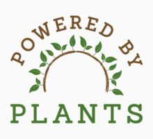 Powered by plants Kids Tee