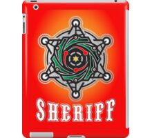 sheriff logo iPad Case/Skin