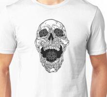 Satanic Skull Design, Gost Unisex T-Shirt