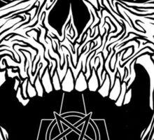 Satanic Skull Design, Gost Sticker