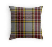 00720 Anthony Plaid Ecru Tartan  Throw Pillow