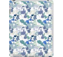 Blue Tie-Dye Pattern iPad Case/Skin